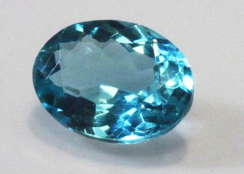 Brilliant Natural Apatite Oval - 1.13 cts.