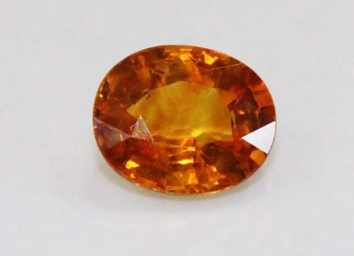 Warm Natural Golden Sapphire Oval - 1.77 cts.