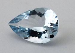 Stunning Natural Aqua Pear - 1.46 cts.