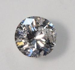 Natural Brilliant-cut Diamond, 0.31 ct.