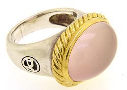David Yurman Two Tone Quartz Ring