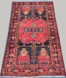 Absolutely Lovely 1950s Armenian Weave Authentic Handmade Vintage Lankoran