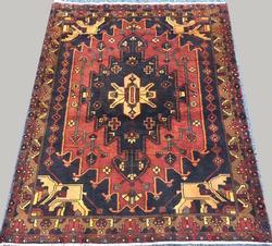 Lovely Rare Mid-20th C. Handmade Vintage Persian Angelas