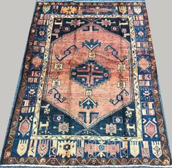 Darling Rare Lovely Mid-20th C. Armenian Weave Vintage Persian Talesh