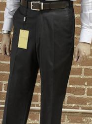 Fine Quality Italian Tailored Black Pants