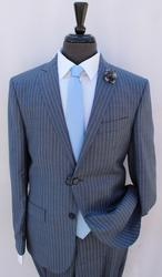 Stylish 2Button Comfort Fit Suit, By Galante