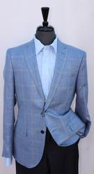 Handsome Wool And Silk Comfort Fit Sport Coat
