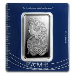 PAMP Suisse Silver Bar 100 Gram Fortuna Design