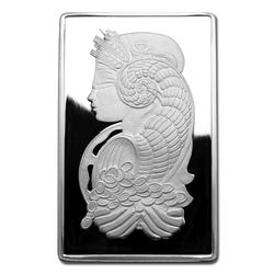 PAMP Suisse Silver Bar 10 oz Fortuna Design