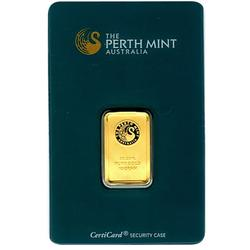 Perth Mint 10 Gram Gold Bar