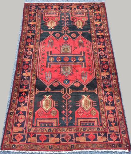 Lovely 1950s Armenian Weave Authentic Handmade Vintage Lankoran
