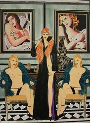 Amazing Acrylic on Canvas by Elka Leonard