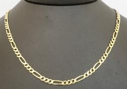 14kt Yellow Gold Figaro Link Chain