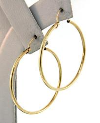 14kt Classic Yellow Gold Hoop Earrings