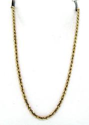 14KT Classic Rope Chain Necklace