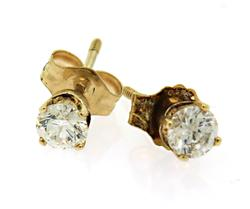 Perfection: Diamond Stud Earrings