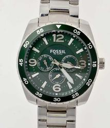Mens Fossil Day Date w Green Dial