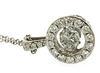 Dazzling Shimmering Diamond Pendant Necklace