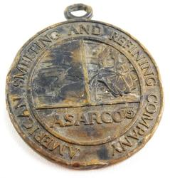 Asarco American Smelting & Refining Medallion