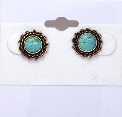 Sweet Vintage Turquoise Earring Studs