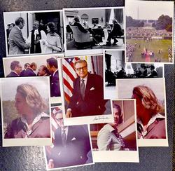 10 Assorted Official Gerald  Ford Presidential Photos