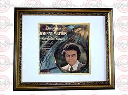 JOHNNY MATHIS Autographed Signed FRAMED LP Album PSA/DN