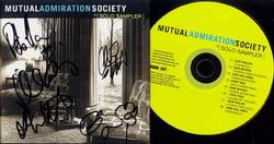 MUTUAL ADMIRATION SOCIETY Signed Autographed full CD