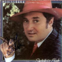 Neil Sedaka Autographed Signed Framed LP Album & Pr