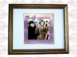 THE ZOMBIES Autographed Signed FRAMED LP Album PSA/DNA