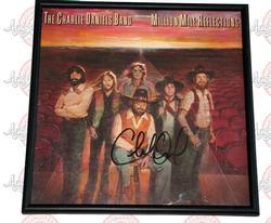 Charlie Daniels Signed Million Mile Reflections Album &