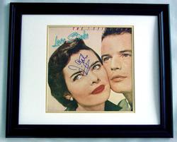 J. GEILS BAND Autographed FRAMED Signed Album LP PSA/DN