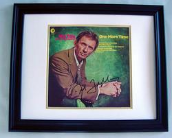 MEL TILLIS Autographed CUSTOM FRAMED Signed Album LP PS