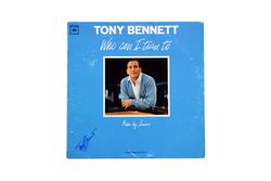 Tony Bennett Autographed Who Can I Turn To Signed Album