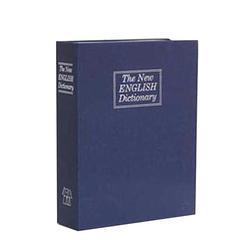 Creative Dictionary Money Box Piggy Bank With Key Lock