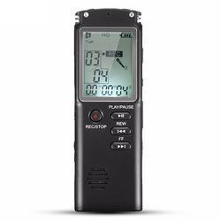 Portable 8GB LCD Digital Audio Voice Recorder MP3 Mic