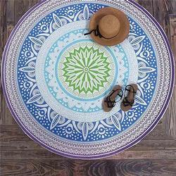 Mandala Tapestry Wall Hanging Blanket Summer Beach