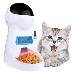 3L Automatic Pet Food Feeder With Voice Recording Pets
