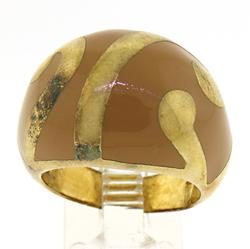 Le Vian Light Brown Sterling Silver Dome Ring