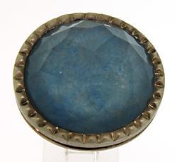 Carlo Viani 19.00 Carat Blue Gemstone Ring