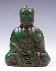 Jade Carved Nephrite Shakyamuni Buddha