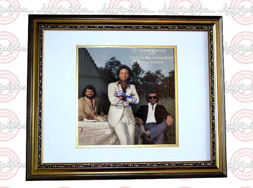 Larry Gatlin Autographed Signed Help Yourself LP Album