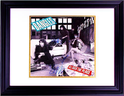 The Bangles Autographed Signed Album LP cover UACC RD C