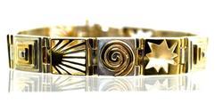 Artsy 14K & Sterling Bracelet