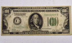 1928A Philadelphia $100 FRN, Circ