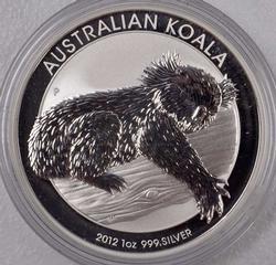 2012 Australian Silver Koala, 1oz Fine