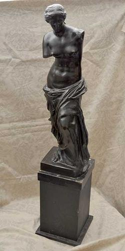 Large Venus de Milo Bronze on stand 3 1/2 Feet tall with the stand