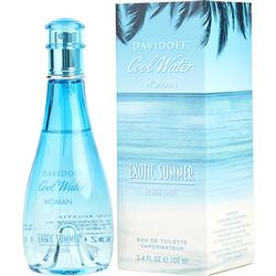 COOL WATER EXOTIC SUMMER by Davidoff EDT SPRAY 3.4 OZ