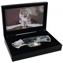 Maxam Decorative Lockback Knife