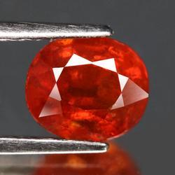 Fiery 1.84ct top orange Spessartite Garnet