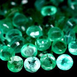 7.27ct 72 piece unheated Emerald parcel